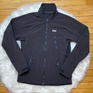 Helly Hansen Coat Soft Shell Gray Full Zip